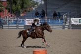 Kaylee Burnett Barrel Racing during the 'Short Go'