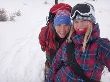 Jacki Klancher and Jaclyn Bly Yellowstone