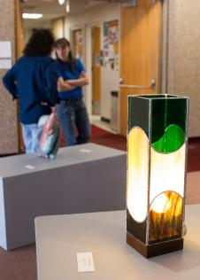 """Cozy Lamp"" by Tina Wright"