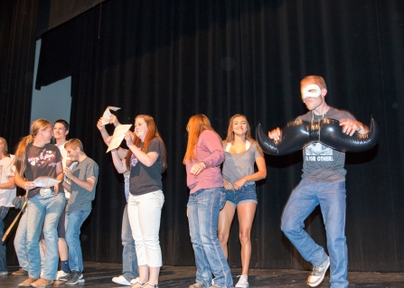 Skits, dancing and fun at NSO.