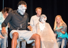 Pie in the face at NSO
