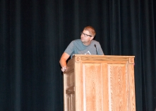 RA Steve narrated the skits at NSO.