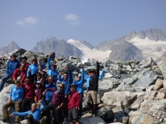 Group photo: Glacier Style