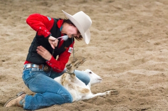 Last years inter-squad rodeo